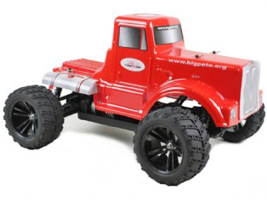 TOYANDMODELSTORE: Radio Control Car Monster Truck BIG PETE 1-10 Scale Pro Spec 7.2v 4WD Off Road RC Model cars